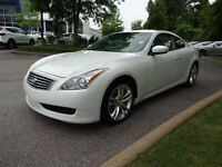 2009 Infiniti G37X COUPE -- AWD -- NAVIGATION -- WHITE