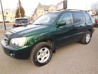 2001 Toyota Highlander Base  2.4 Condition impécable