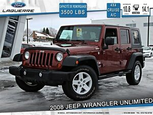 2008 Jeep WRANGLER UNLIMITED **UNLIMITED X*4X4*CRUISE*A/C**