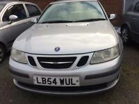 SAAB 9-3 LINEAR SPORT TID 4 DOOR SALOON 2005 SPARES OR REPAIRS