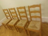 Dining Room or Kitchen Chairs John Lewis - 4 chairs