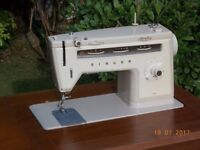 Singer Sewing Machine in Table