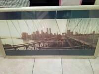 Large brooklyn bridge picture