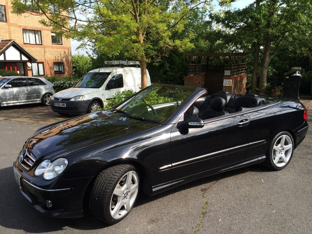 mercedes clk 350 amg sport convertible in southgate london gumtree. Black Bedroom Furniture Sets. Home Design Ideas