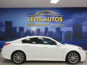 2014 Acura TL A-SPEC BLANC CUIR TOIT OUVRANT 85100 KM !