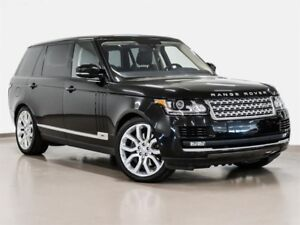 2016 Land Rover Range Rover V8 Supercharged LWB @2.9% INTEREST C