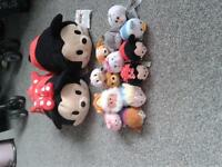 Disney Tsum Tsum soft collectibles