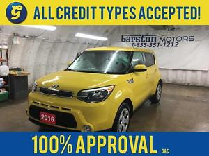2016 Kia Soul LX*BLUETOOTH*KEYLESS ENTRY*POWER WINDOWS/LOCKS/MIR