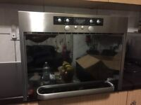 Whirlpool built in microwave and oven