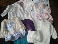 Baby Girls clothes bundle - newborn-6 months - some BNWT, dresses, coats, pramsuits and more