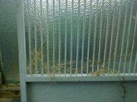 Pigeon loft internal panels.