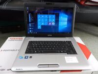 "Toshiba Satellite Pro L450-17Q 15.6"" Laptop computer for sale."