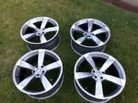 Audi vw rotor alloys 20 inch