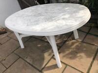 GARDEN TABLE - LARGE PLASTIC