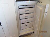 integrated freezer h870mm x w540mm