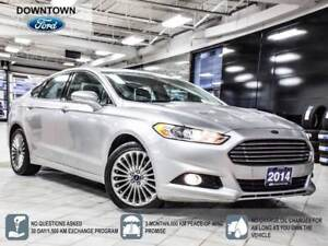 2014 Ford Fusion Titanium, AWD, Moon Roof, Navigation, Leather