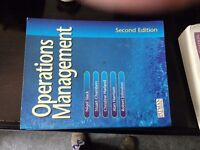 MBA text book Operations Management by Nigel Slack, Stuart Chambers, Christine Harland & 2 more