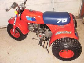 1985 Honda Atc 70 Trike