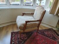 French style armchair/ chair used.