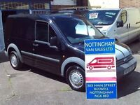 FORD TRANSIT CONNECT T200 IN BLACK