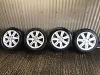 "Genuine 18"" Audi A4 SE Alloy Wheels - 5x112 - Will fit VW, Skoda, Seat, A4, A5"