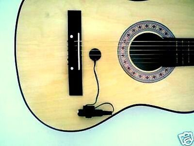 Professional piezo contact microphone pickup for guitar Sa