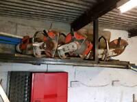 3 stihl ts350 disc cutters spares or repair