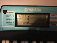 YAMAHA PSR -170 Electronic Keyboard and Adjustable Stand with piano bag