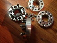 """Spacer 1""""1/2 ford f150 bolt pattern 6x135mm"""
