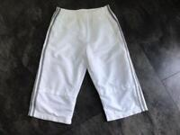 Boys Adidas 3/4 trousers.