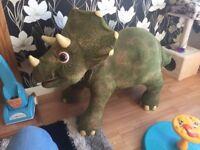 /Playskool Kota My Triceratops Dinosaur