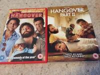 The Hangover and Hangover part 2 £2 for the set