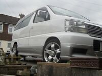 8 seater nissan elgrand 3.2 turbo diesel,1998, £1500 ono