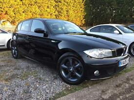 BMW 120d se 5 door Upgrade alloys with comfort pack and bluetooth phone and audio!