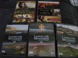 HISTORICAL DVDs