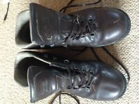 WALKING BOOTS - almost new SIZE 12