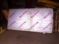 1 Sheet Of 100mm Foil Backed Insulation Board Ecotherm Like Kingspan