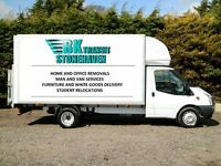BK Transit, Aberdeen Removals, Courier/Man and Van services.