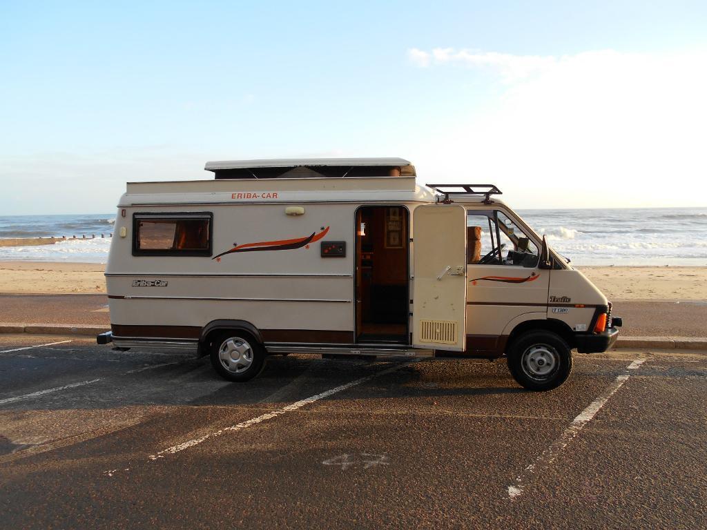retro camper motorhome hymer eriba car deposit taken call for new stock in bournemouth. Black Bedroom Furniture Sets. Home Design Ideas