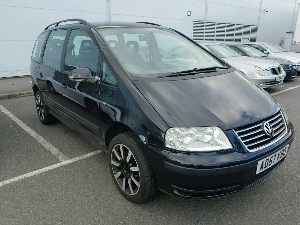 CHEAP 2008 VOLKSWAGEN SHARAN 7 SEATER AUTOMATIC FOR QUICK SALE