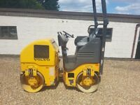 Volvo DD 15 1.7 tonne Vibrating Roller 2013 Low hrs no vat Finance available
