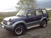 TOYOTA LAND CRUISER PRADO 3.0 TX TD ** RARE MANUAL!!! ** 4X4 BLUE