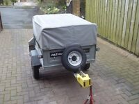 DAXARA 107 TRAILER IN GOOD CLEAN CONDITION, USED ONLY FOR FAMILY CAMPING TRIPS