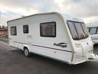 Bailey pageant 4berth fixed bed 2006 moter mover px welcome