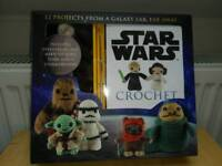 Brand New Star Wars Crochet Gift Set