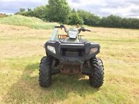 Polaris sportsman 550 4x4 farm quad bike