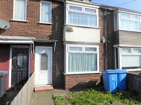Two Bedroom Terrace to Let on Hedon Road with Garden and Parking
