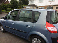 renault scenic low miles, long MOT