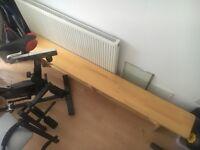 Wooden PE/gymnastics bench