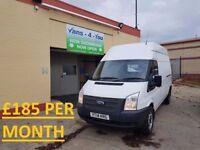 2014 FORD TRANSIT T350 RWD 125BHP *£185 PER WEEK*